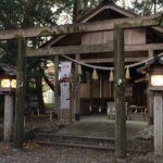 箕曲中松原神社【参拝レポート】